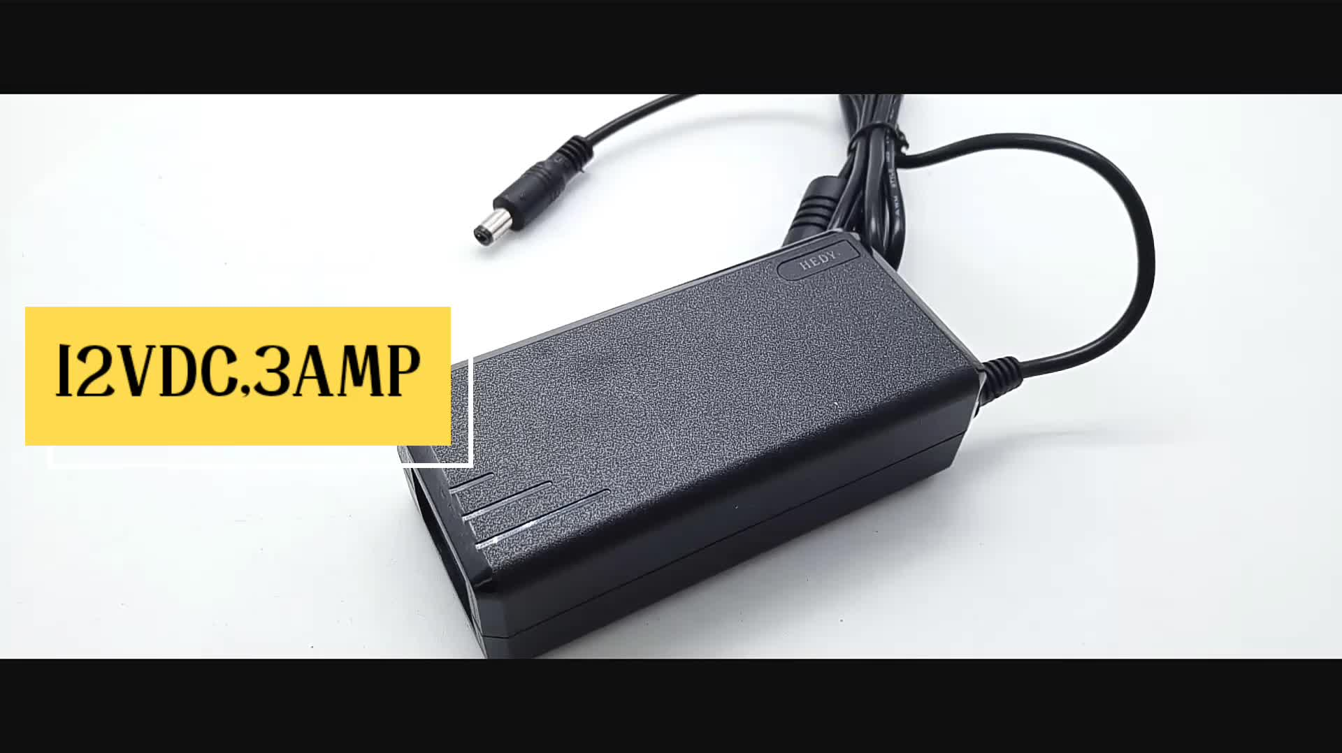 36W switching 12v 3a ac 100-240v power adapter