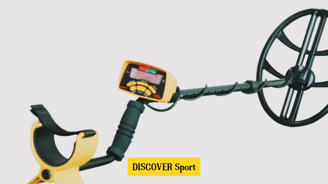 "DISCOVER Sport new professional 15"" D-D search coil underground gold detector machine"