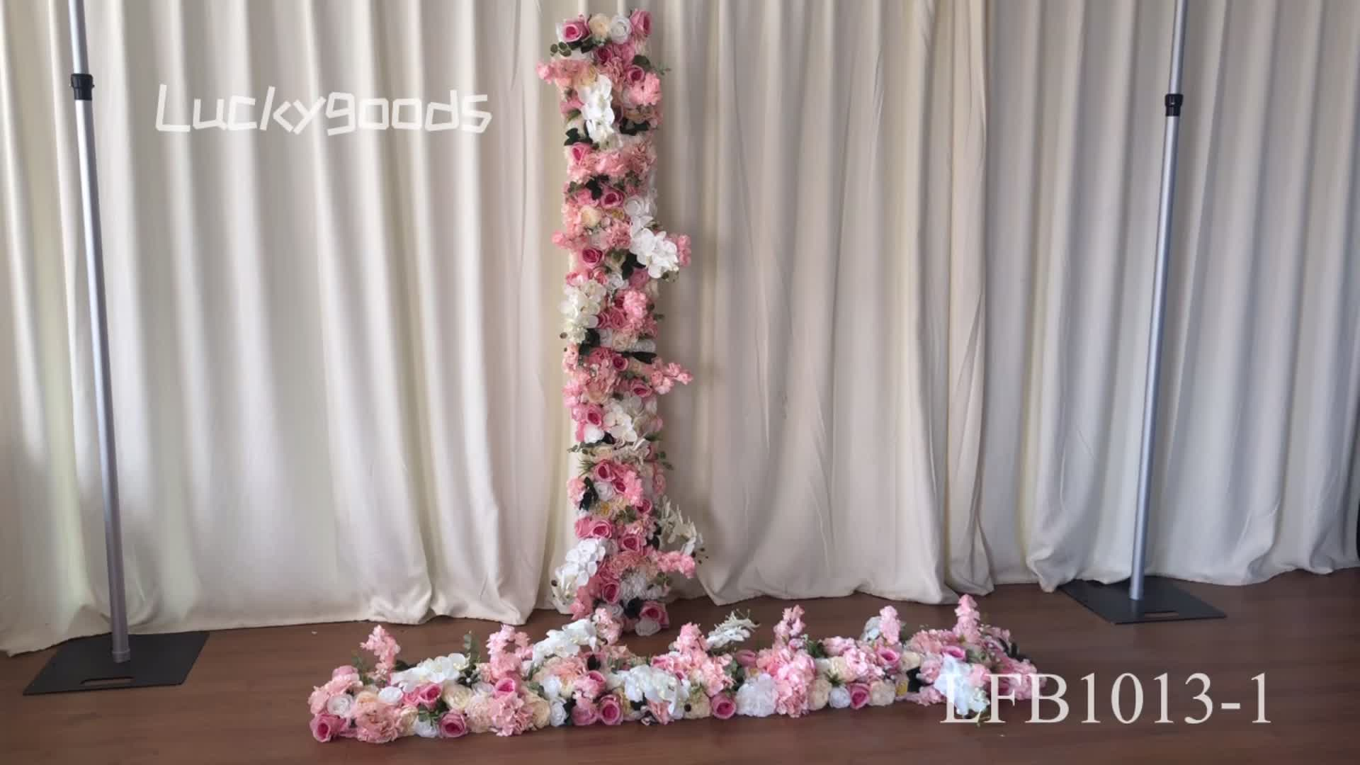 LFB1013 valentine party decoration color matching pink flower arranging wholesale