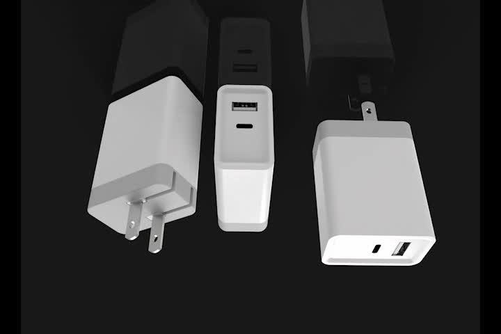 ABD Tak 30 W USB PD Tipi C Duvar Şarj ev şarj