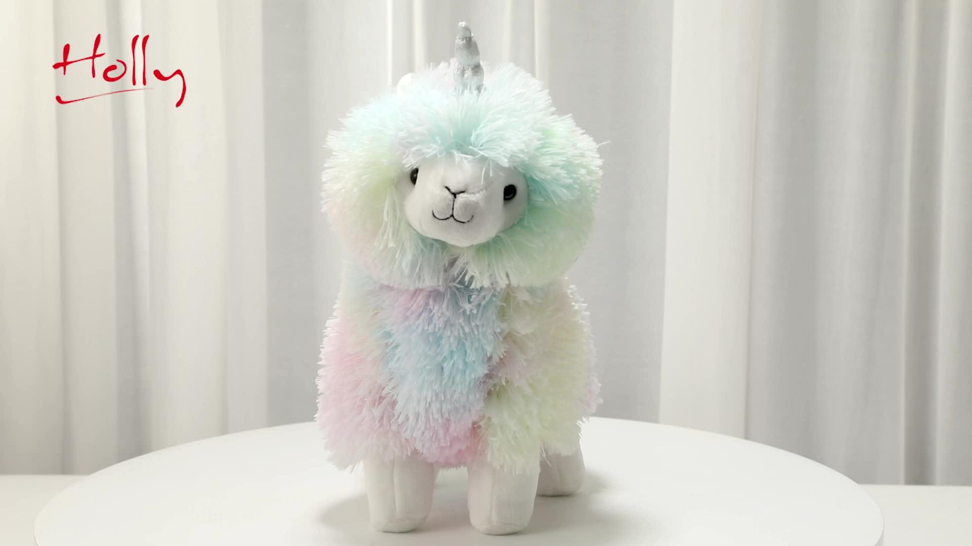 OEM Personalizzato Super Soft Carino Angelo Unicorno Peluche Giocattolo Animale di Pezza