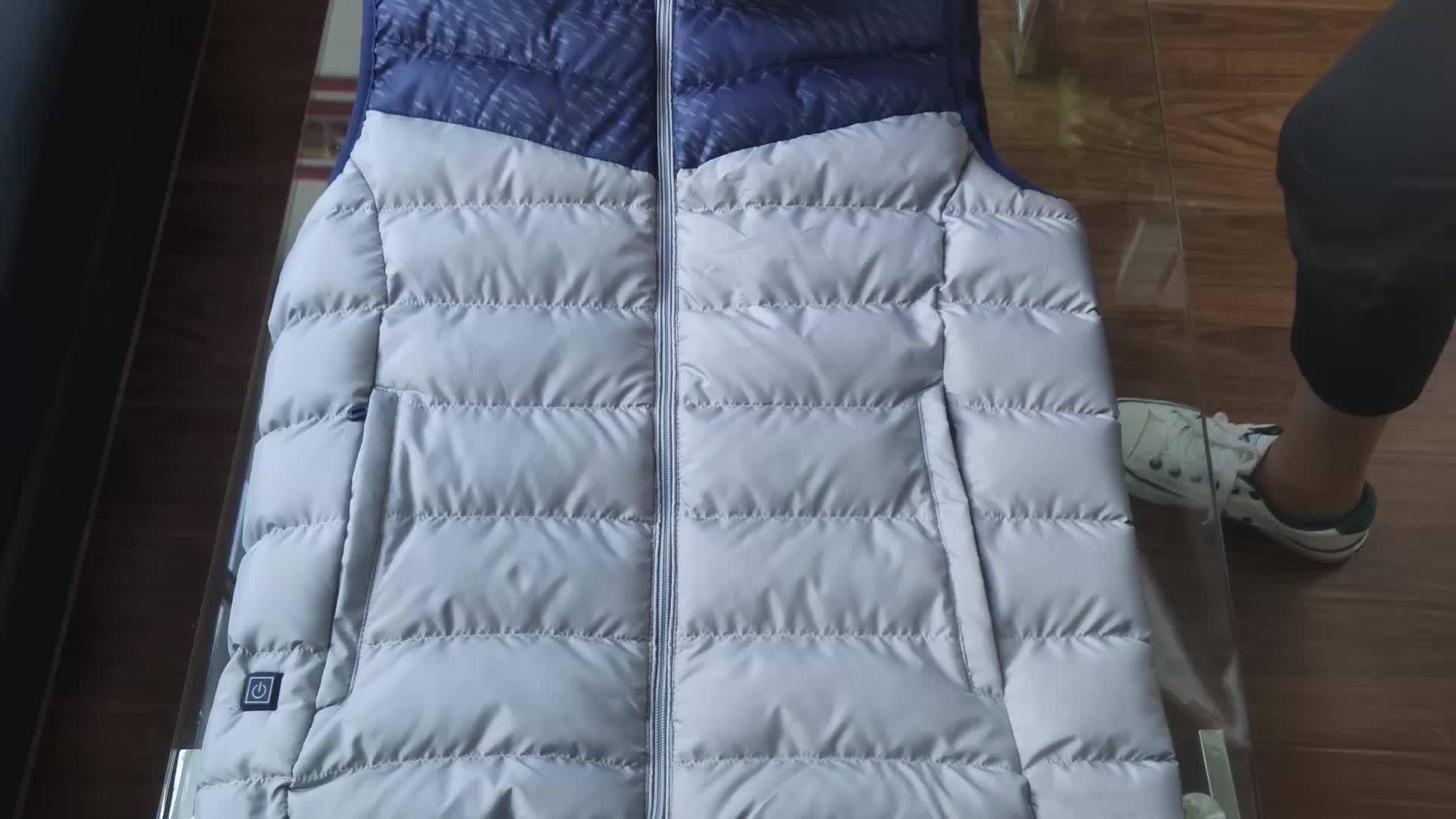 เครื่องทำความร้อน Usb การล่าสัตว์เสื้อกั๊กอุ่นเสื้อเครื่องทำความร้อนฤดูหนาวเสื้อผ้าผู้ชายความร้อนกลางแจ้งเสื้อกั๊ก