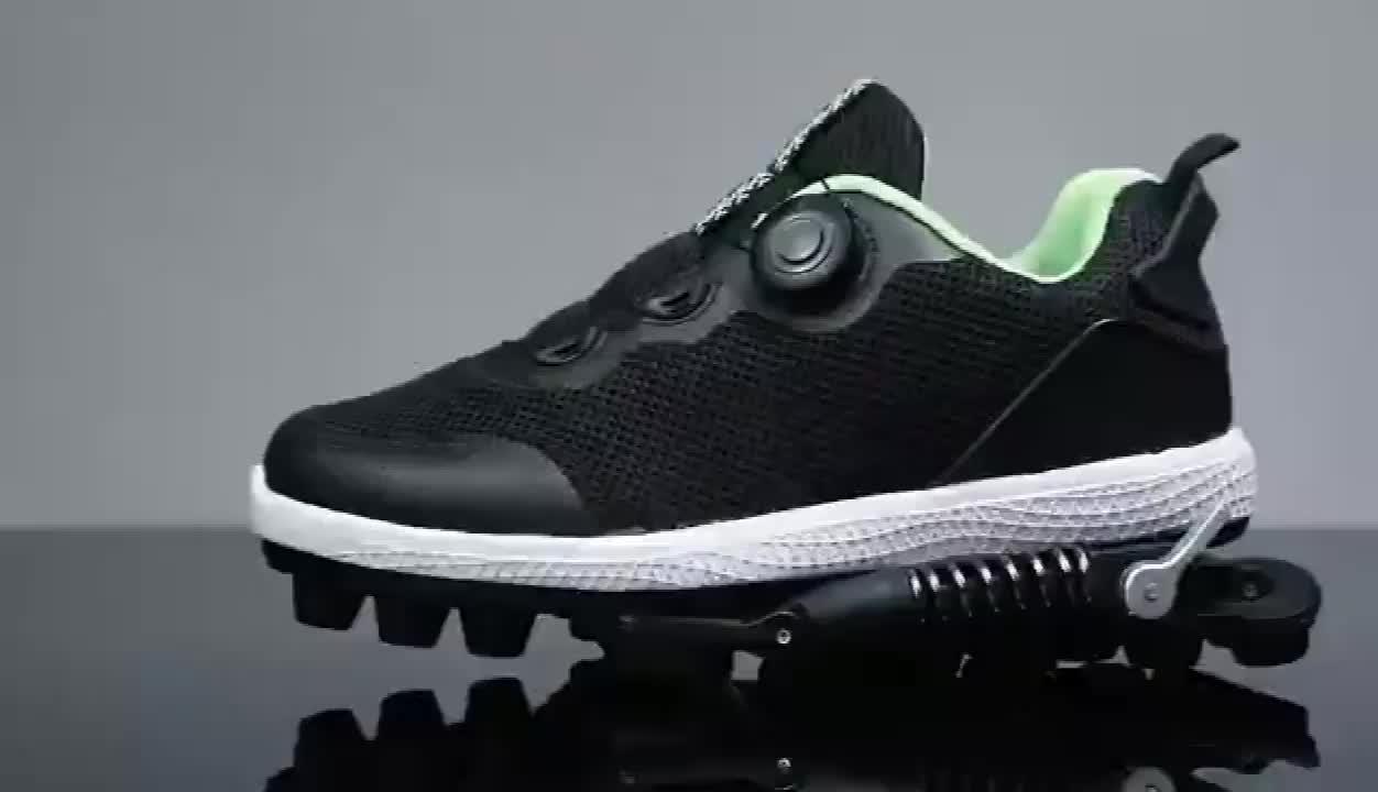 Olahraga Menjalankan Musim Semi Mekanis Bantalan Sepatu-Athletic Marathon Bebas Rasa Sakit Sepatu Pereda Nyeri Alas Kaki Pabrik Grosir