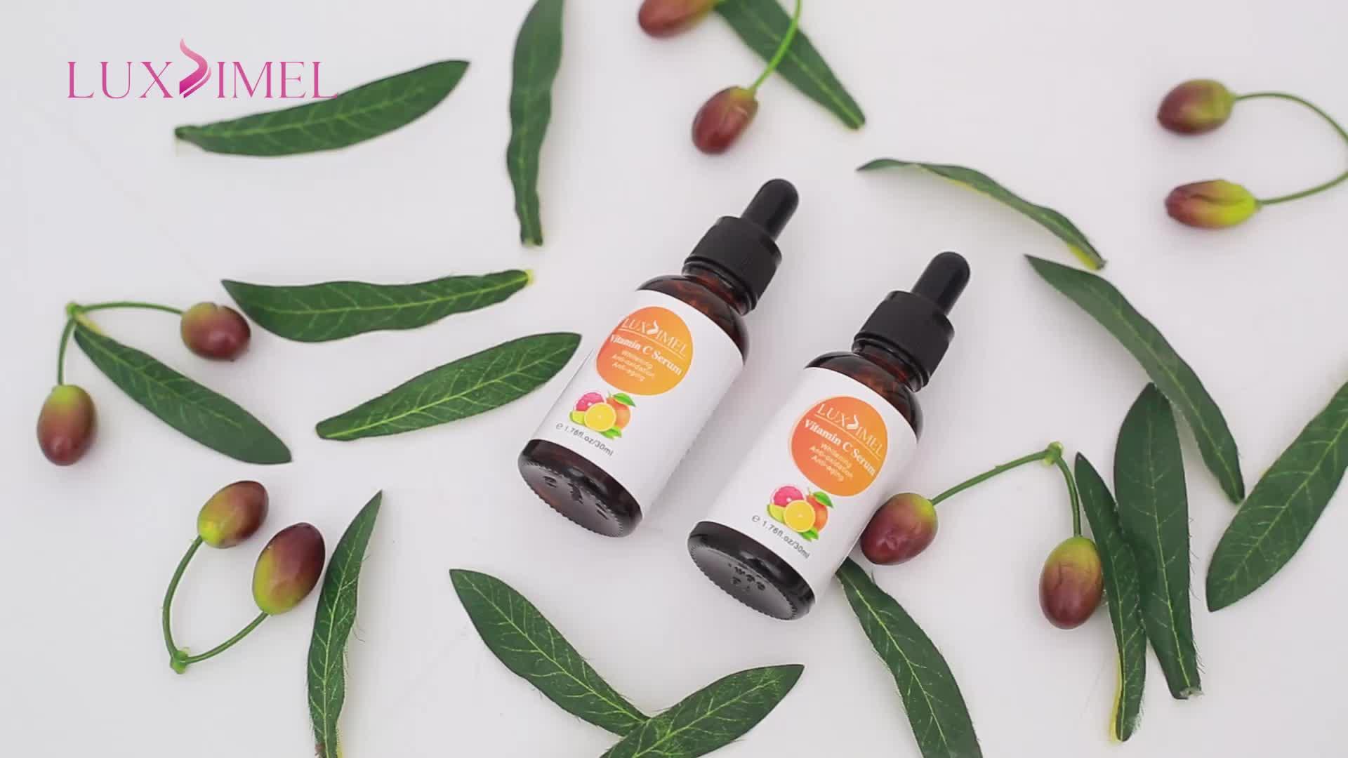 La Peau de Marque privée Oz Naturals Bio Collagène Visage Blanchissant Visage Vitamine C Sérum