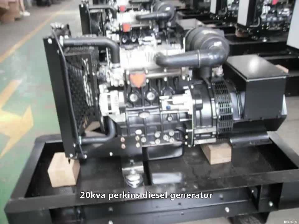 קילו כוח 60 גנרטור דיזל השקט עם פרקינס מנוע
