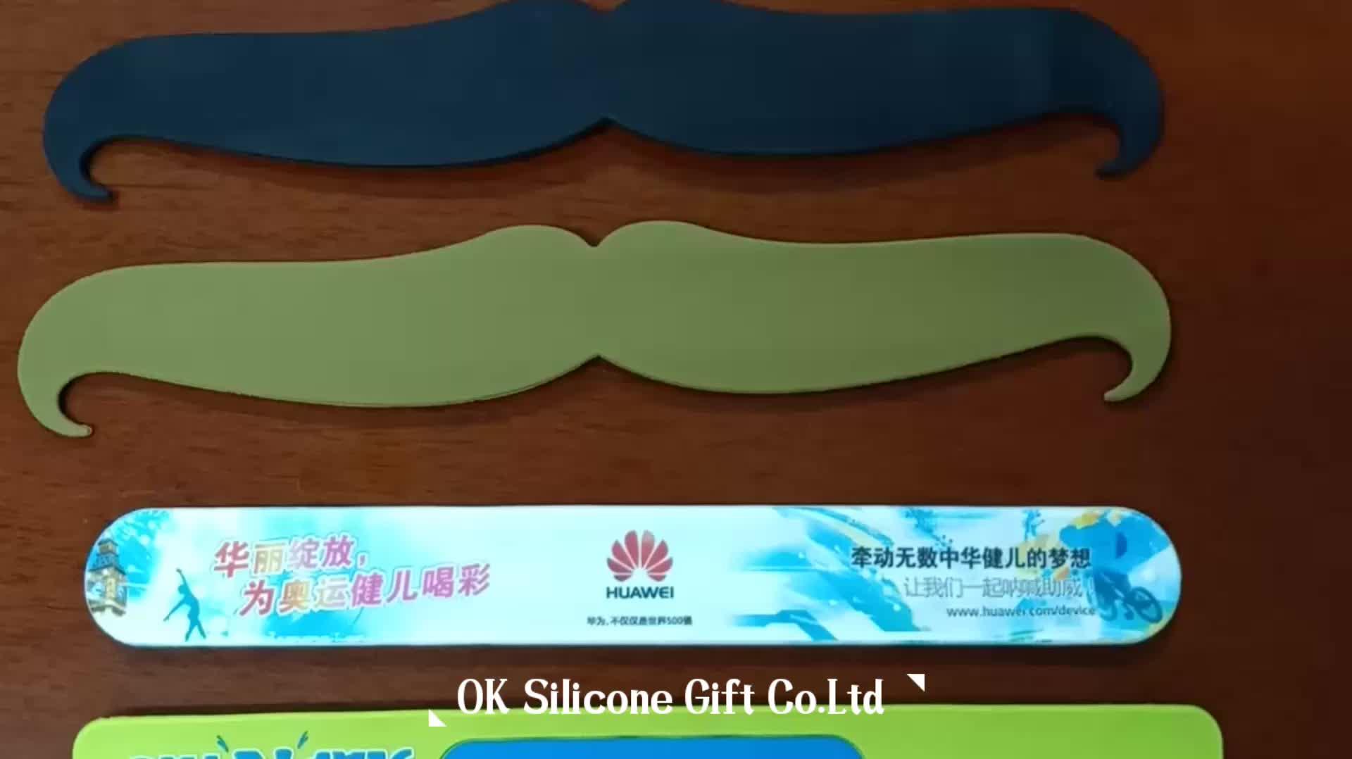2019 Christmas Present Animal Silicone Slap Bracelets