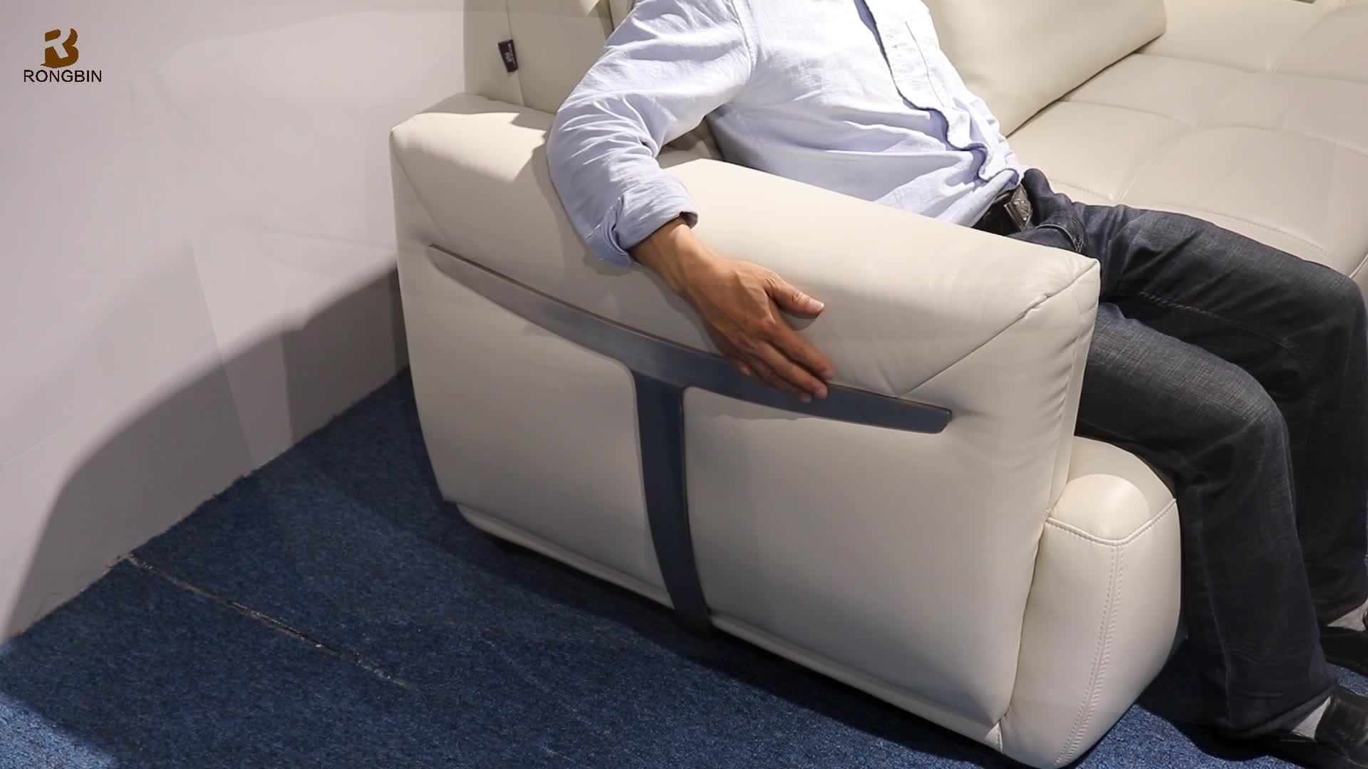 Foshan Luxury Sectional Leather Sofa Manufacturer Elegant High End