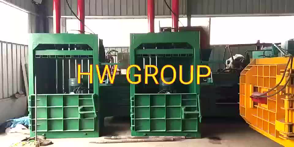hot sale pet bottle baler machine compress baler