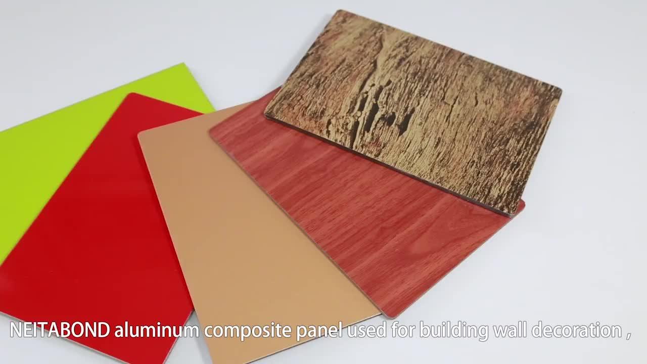 Baumaterial ien PE-beschichtet ACP ACM Alucobond Außenwand Aluminium-Verbund platten verkleidung