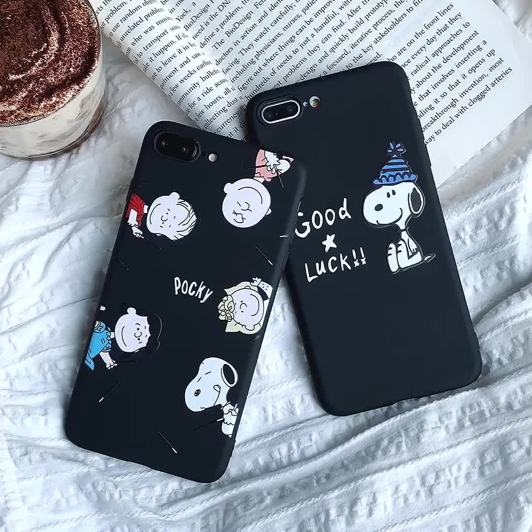 2019 new arrivals Phone Cover For iphone X Case mobile phone accessories for iPhone Cartoon Pattern TPU Soft Case