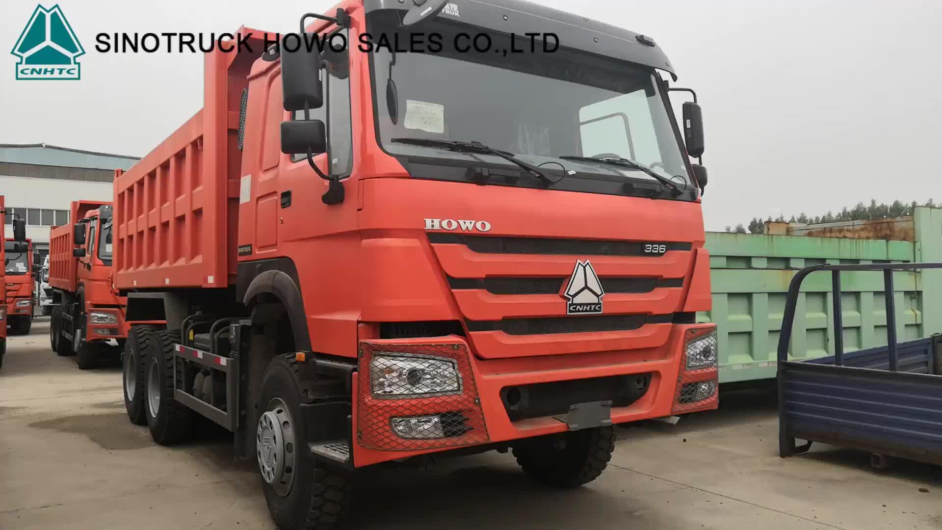 Sino Truck Used 336hp Howo 10 Wheels Dump Truck Tipper 6x4
