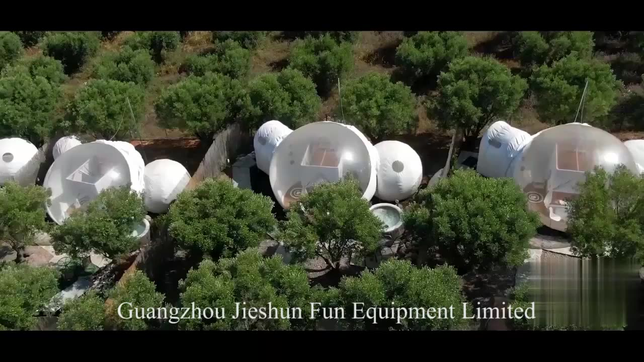 Hot  selling camping tent house outdoor Igloo bubble tent Inflatable Dome clear bubble tent house for camping