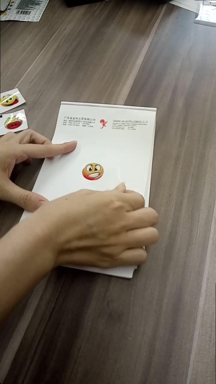 Custom Professional 5 VARA charwing goma adesivos tatuagem envoltório do rolo para a embalagem de goma de bolha