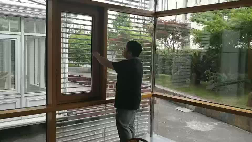68mm thickness aluminum outswing windows