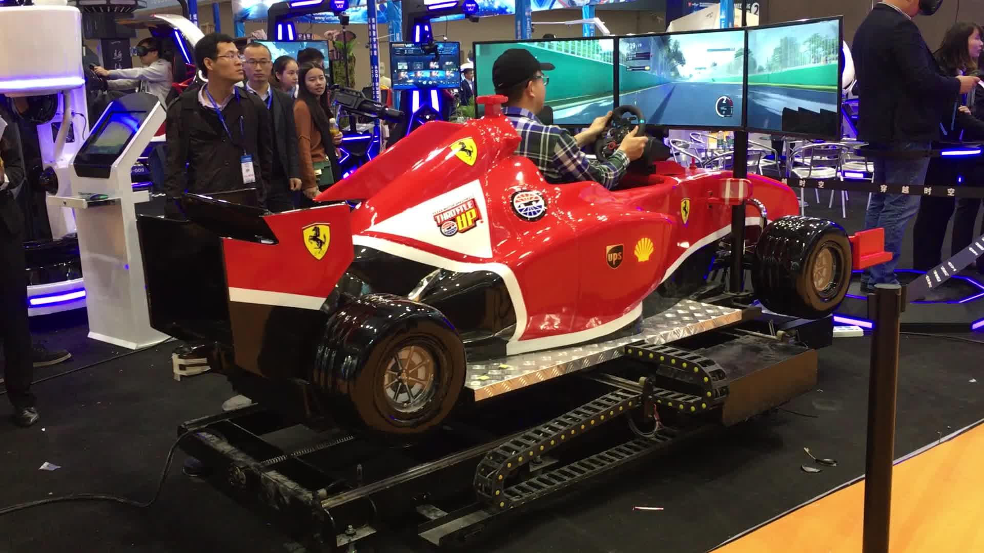 VART VR Attraction Gaming Racing Seat Driving Simulator F1 Car VR Game