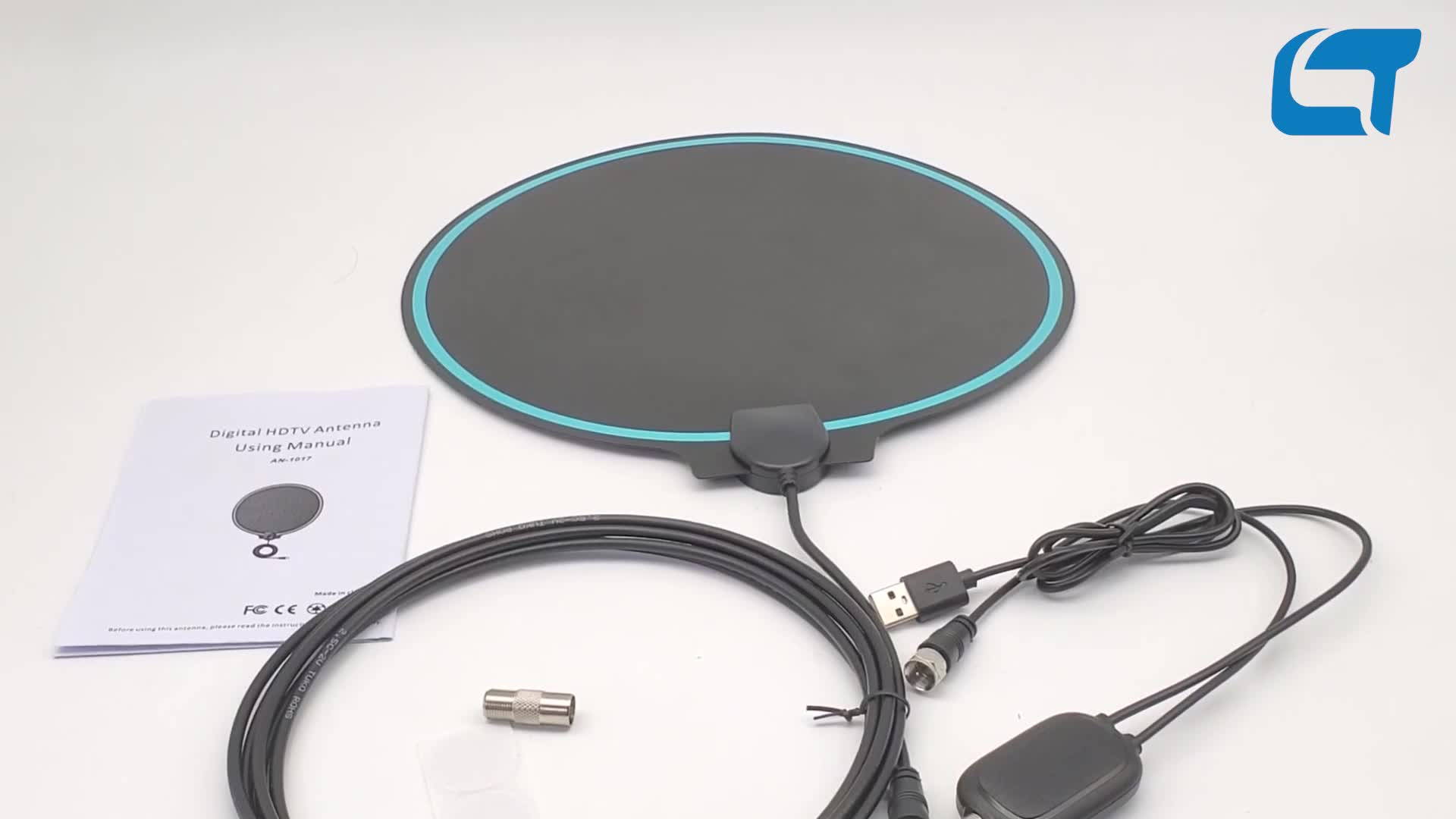 Best quality color tv indoor digital tv antenna