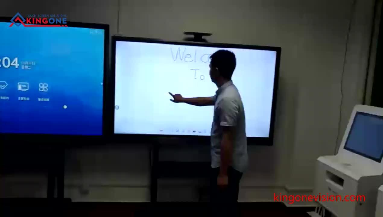 75 polegadas Inteligente da Tela de Toque LCD PC 4 K Tudo em Uma Placa de Escrita Digital
