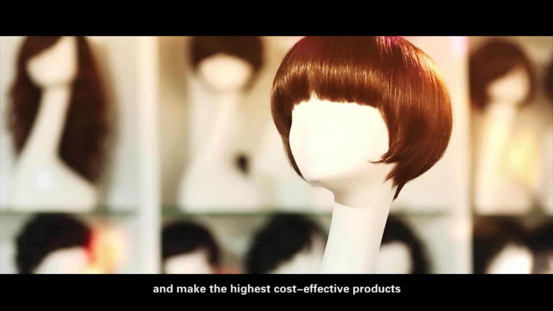 Trendy Long Bob Hairstyle Glueless Lace Front Wig Virgin Chinese ...