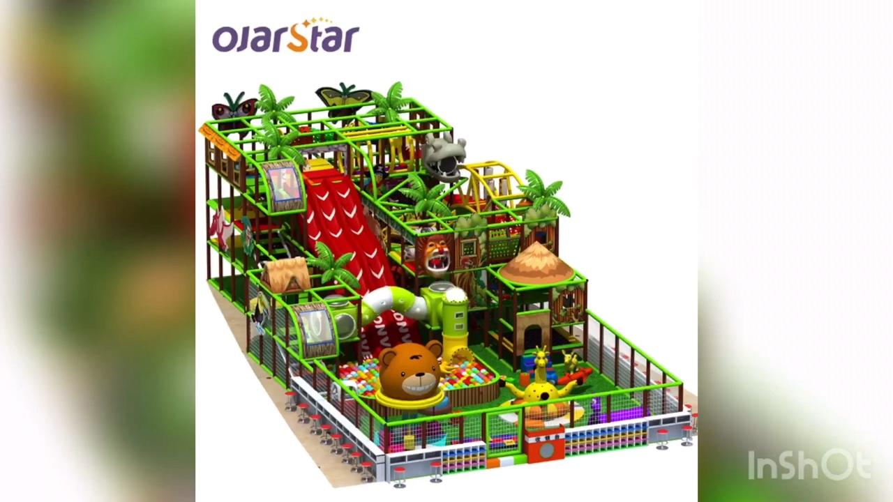 Worldstar new design multi-functional soft park children kids soft indoor playground