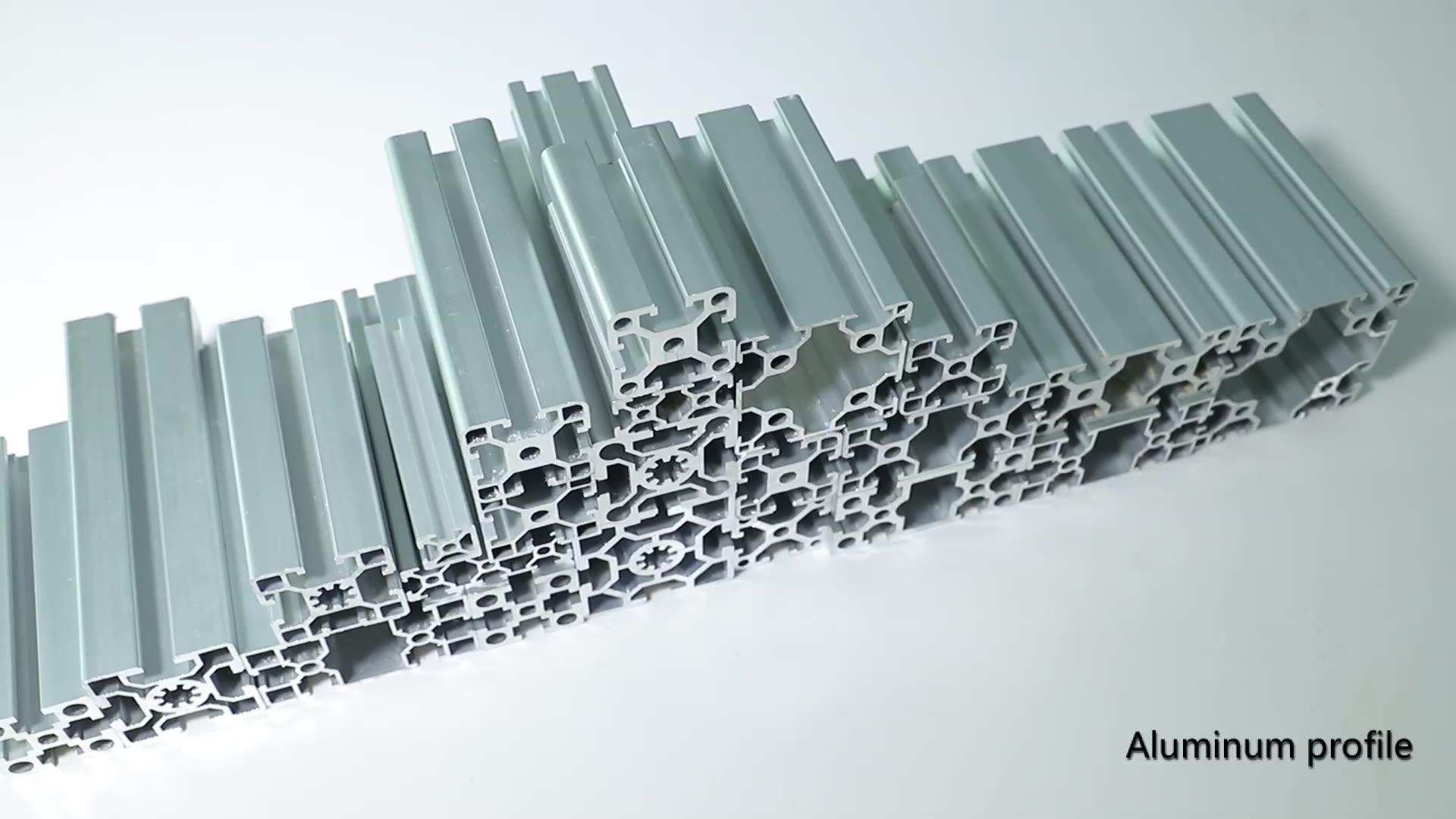 Rifornimento della fabbrica 30x30 estrusione di alluminio profilo in alluminio estruso per il pannello solare