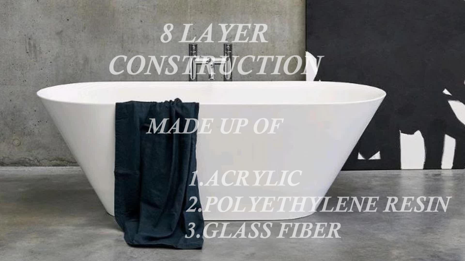 Aifol 安いベビープラスチック浴槽浴槽、子供アクリルバスタブ、深い繊維浴室プラスチックハイドロ浴槽