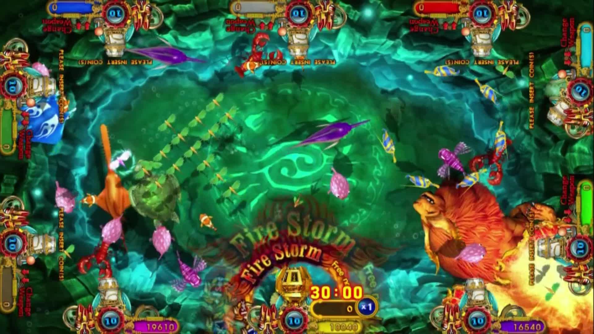 IGS मछली खेल मशीन ताइवान igs मोचन खेल बिक्री के लिए मछली खेल टेबल जुआ मशीनों