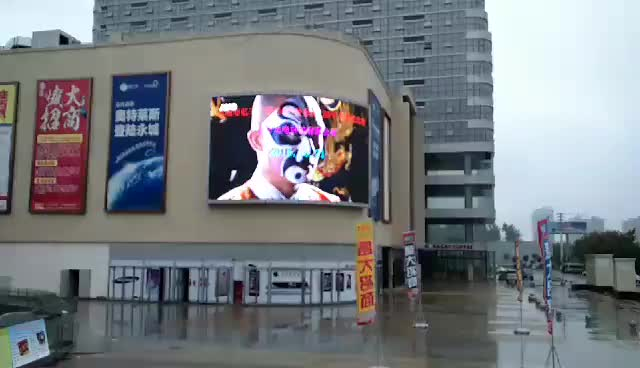 Outdoor Mobile LED Video Advertising Display Moving LED Display HD Full Color P10