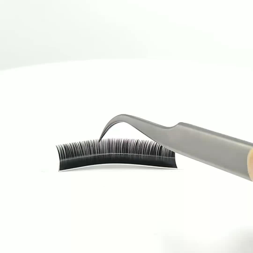 big eyes secret D+ curl silk false eyelash extensions thick lash gold supplier single eyelashes