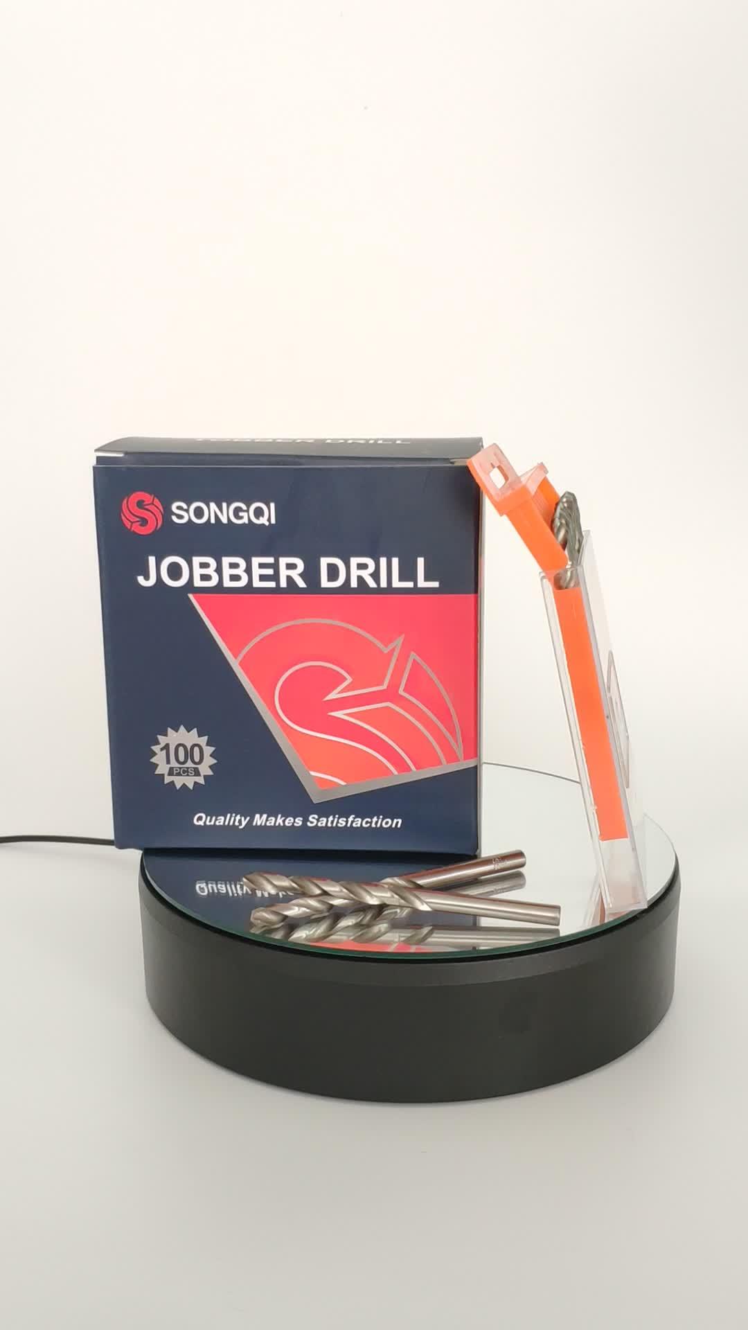 Uitstekende kwaliteit power tools HSS volledig gemalen twist boor voor boren van metalen