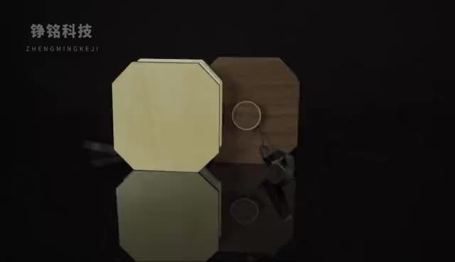Commercio all'ingrosso Ha Condotto La Luce Mini di Legno Pieghevole Ricaricabile A Led Libro Organo A Forma di Lampada