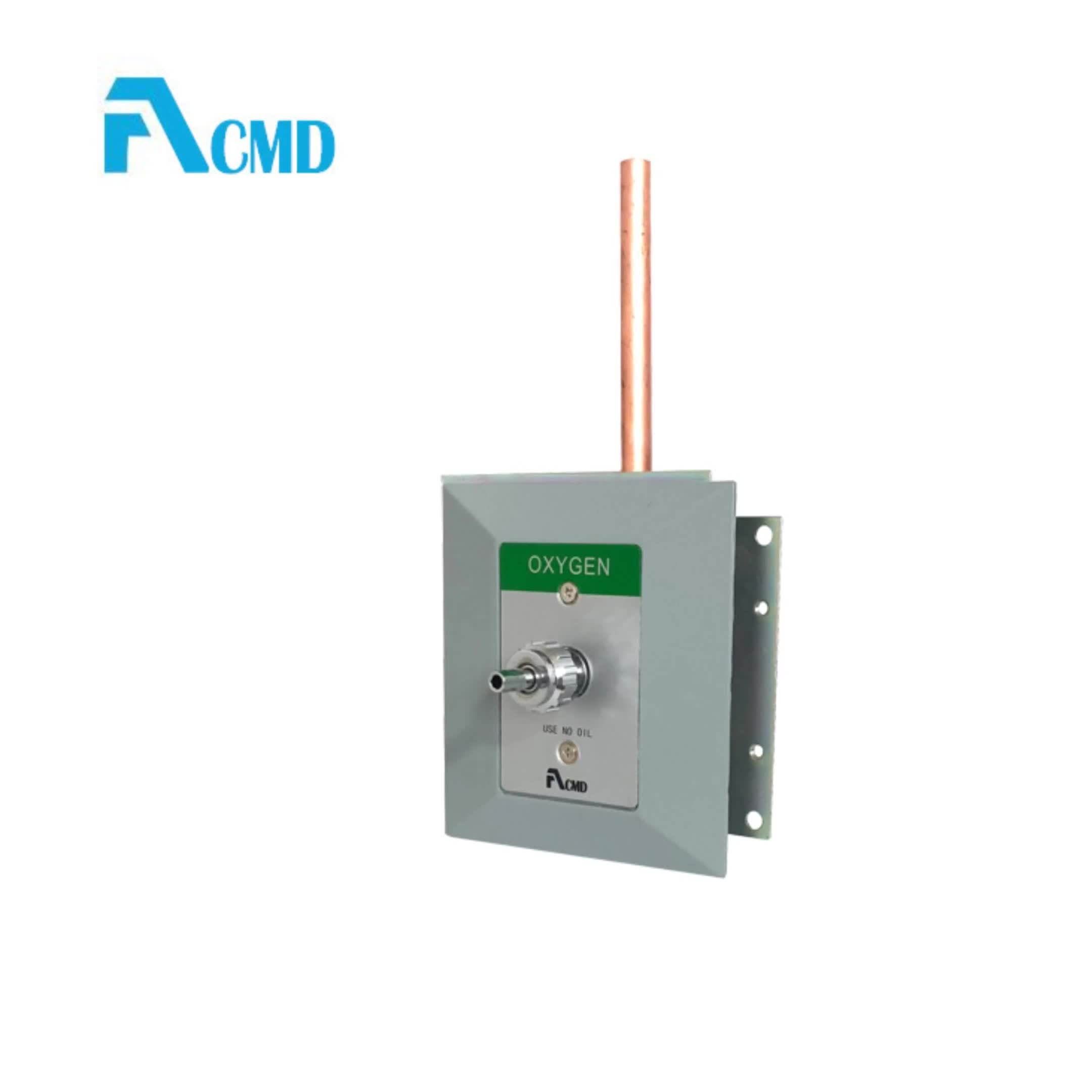 Wall Mounted Medical Gas Outlet For Copper Pipe