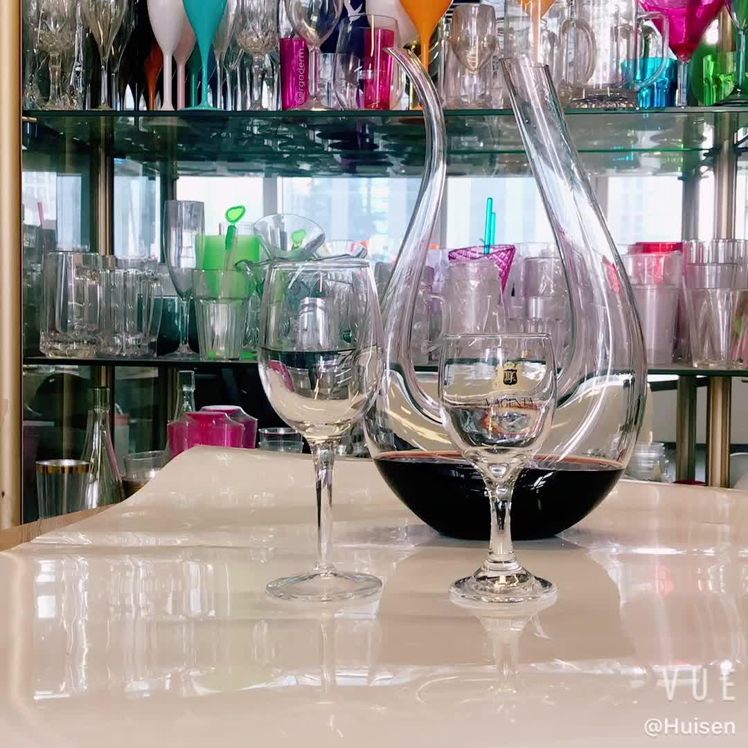 Isolados 40oz iridescent casamento aquário lidar com projeto do copo pequeno copo suporte de vidro de vinho