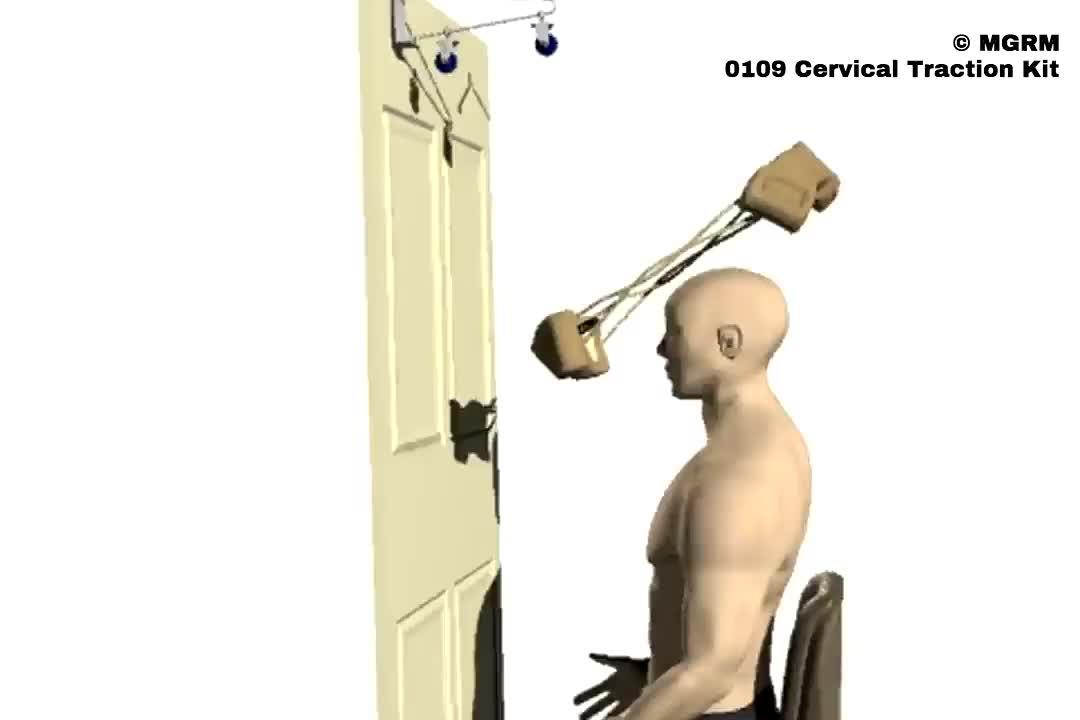 Halswirbelsäulen-Traktions-Kit für die Hals-Traktionsbehandlung