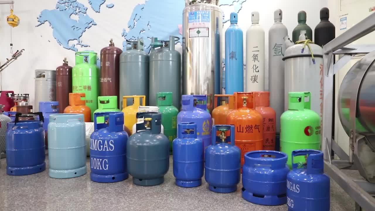 Pasokan Pabrik Minsheng Silinder Gas Lpg 12.5Kg/25Lbs untuk Memasak Di Haiti