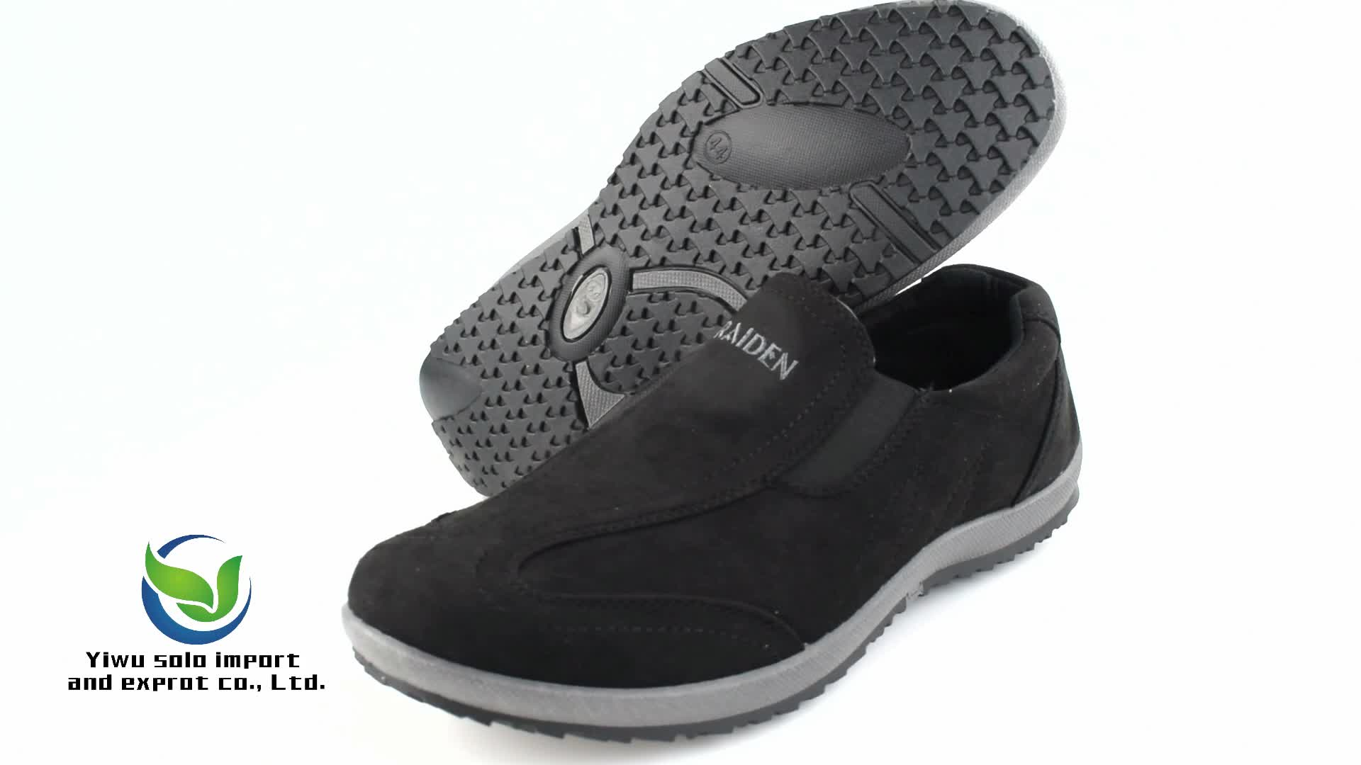PVC injection soft outsole comfortable insole  outdoor and home men casual shoes and  leisure boat shoes