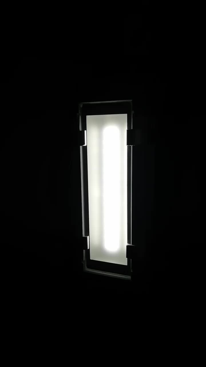 led light bar linear LED sucked type dash light magnet adsorbing container cabin carriage Rechargeable Emergenency Light