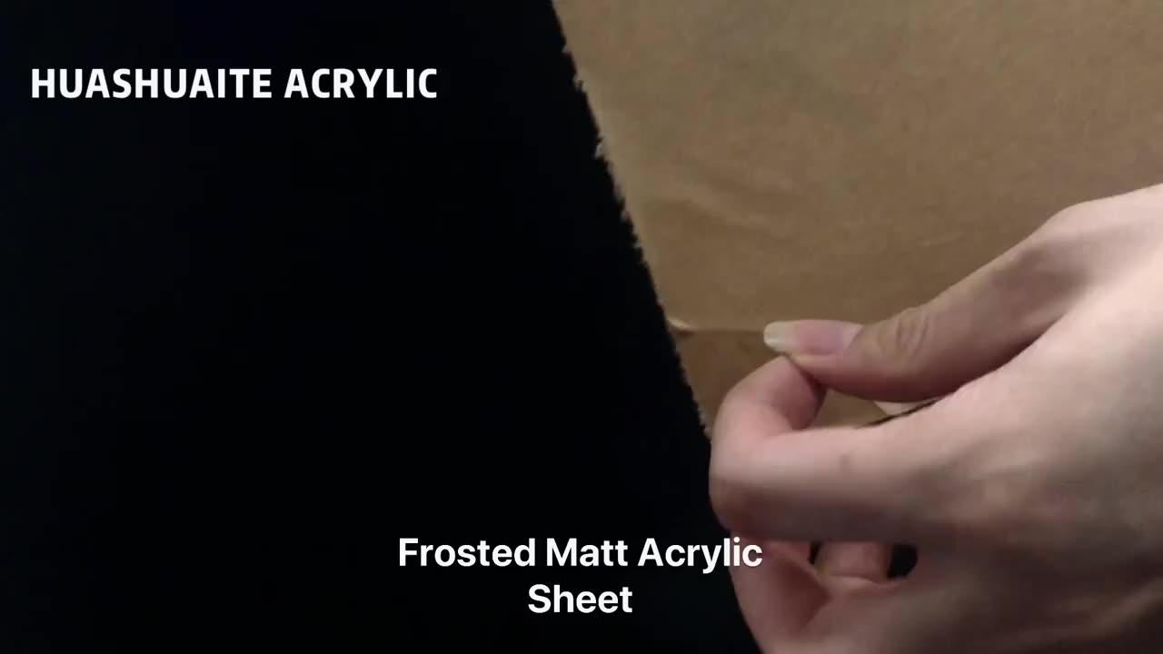 HUASHUAITE açık 2050*3050 5mm lucite akrilik pleksiglas perspex şeffaf döküm akrilik plastik levha