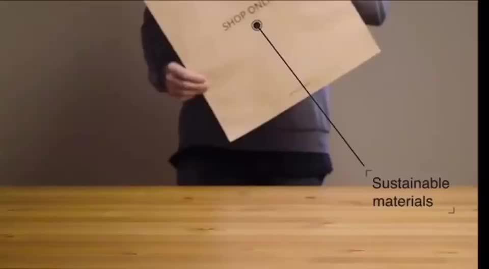 고품질 주문 인쇄 배달 포장 봉투 크래프트 브라운 생분해 성 방수 종이 가방 로고 인쇄