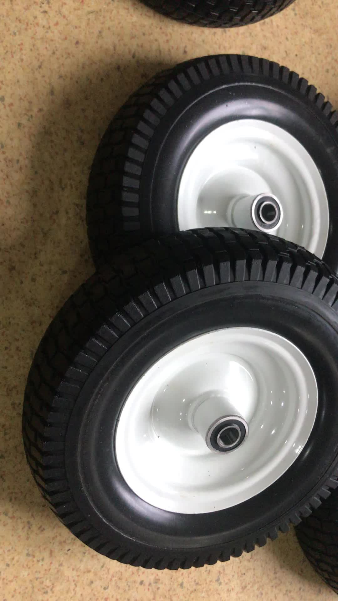 13x5.00-6 PU Solid Lawn Mower Mud Tires Off Road