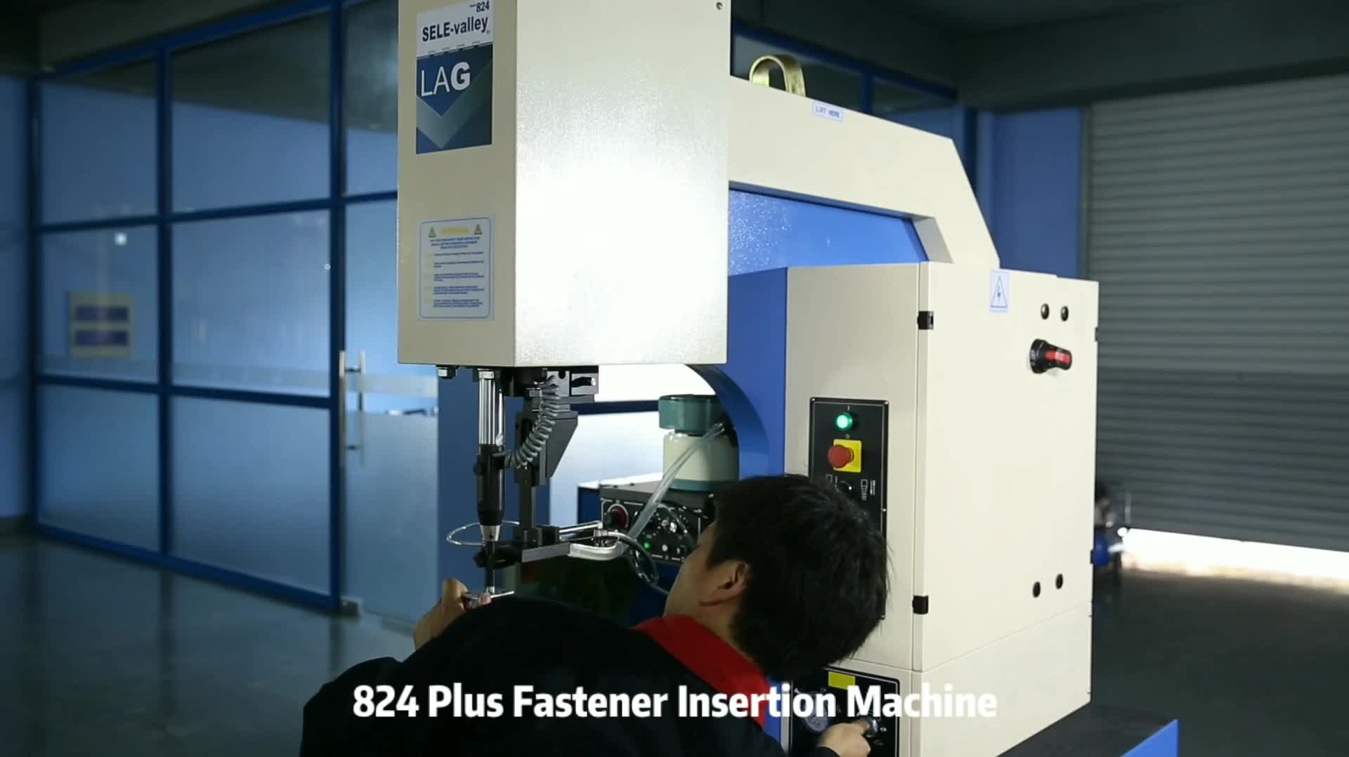 Commercial Appliances Nuts Insertion Machine With Automatic Tooling System