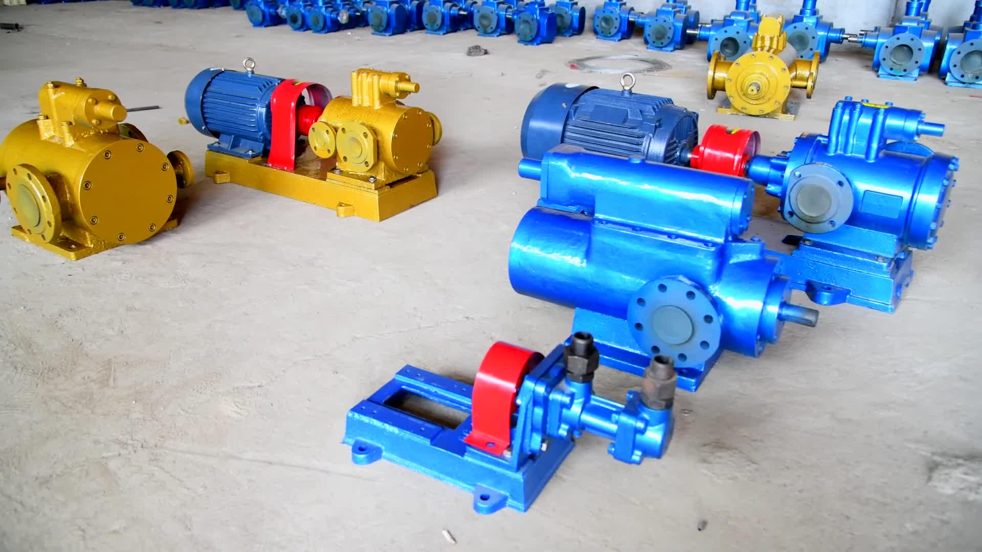 Hot!!! 2ww Seal Type Heat Twin Screw Pump/double Screw ...