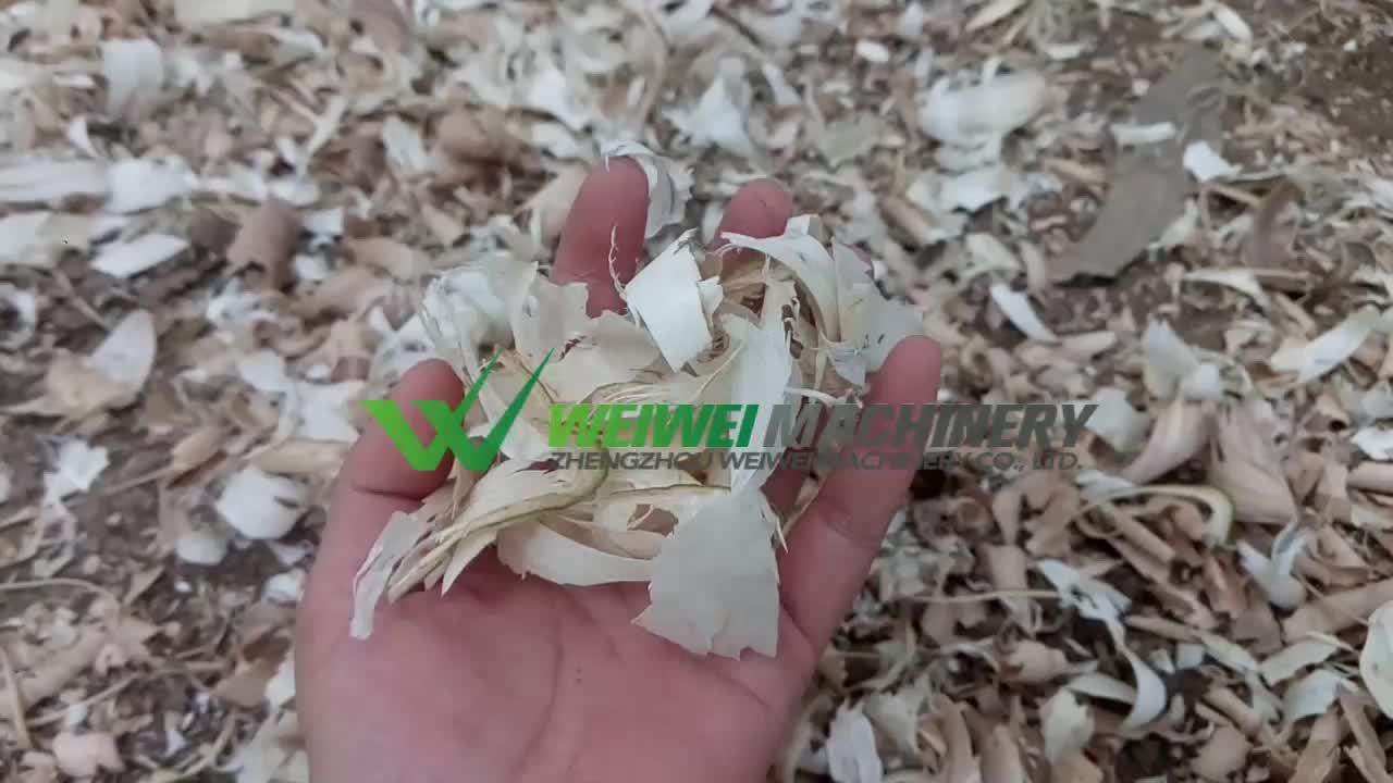 Mini garden wood branch machinery