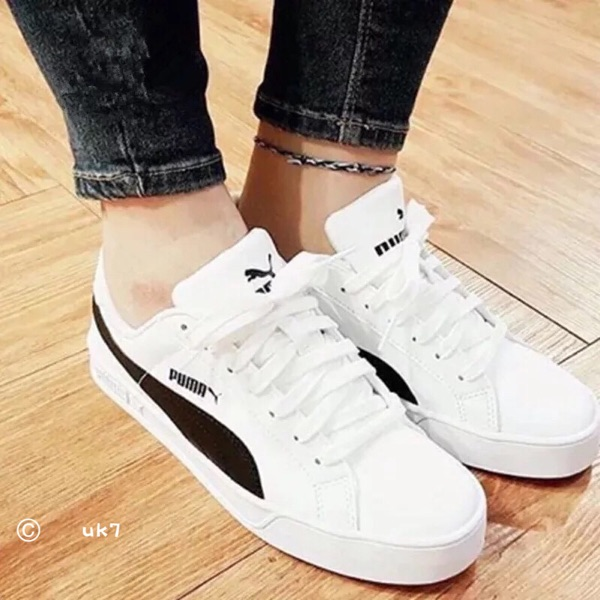 b0e2c4d7ac0 Puma Puma SMASH VULC casual shoes cherry powder white powder black and white  men and women. Zoom · lightbox moreview · lightbox moreview · lightbox  moreview ...