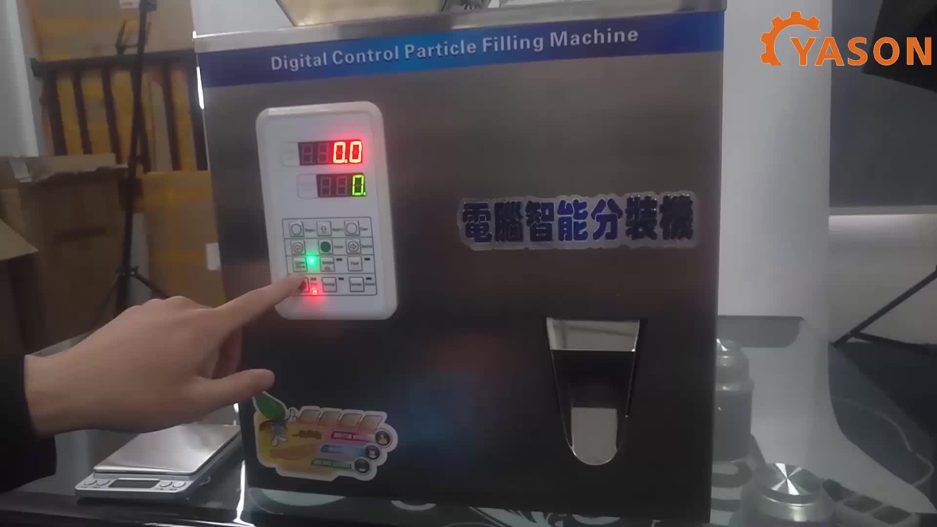 Semi Auto polvo químico de bajo costo bolsas de polvo de la máquina de llenado