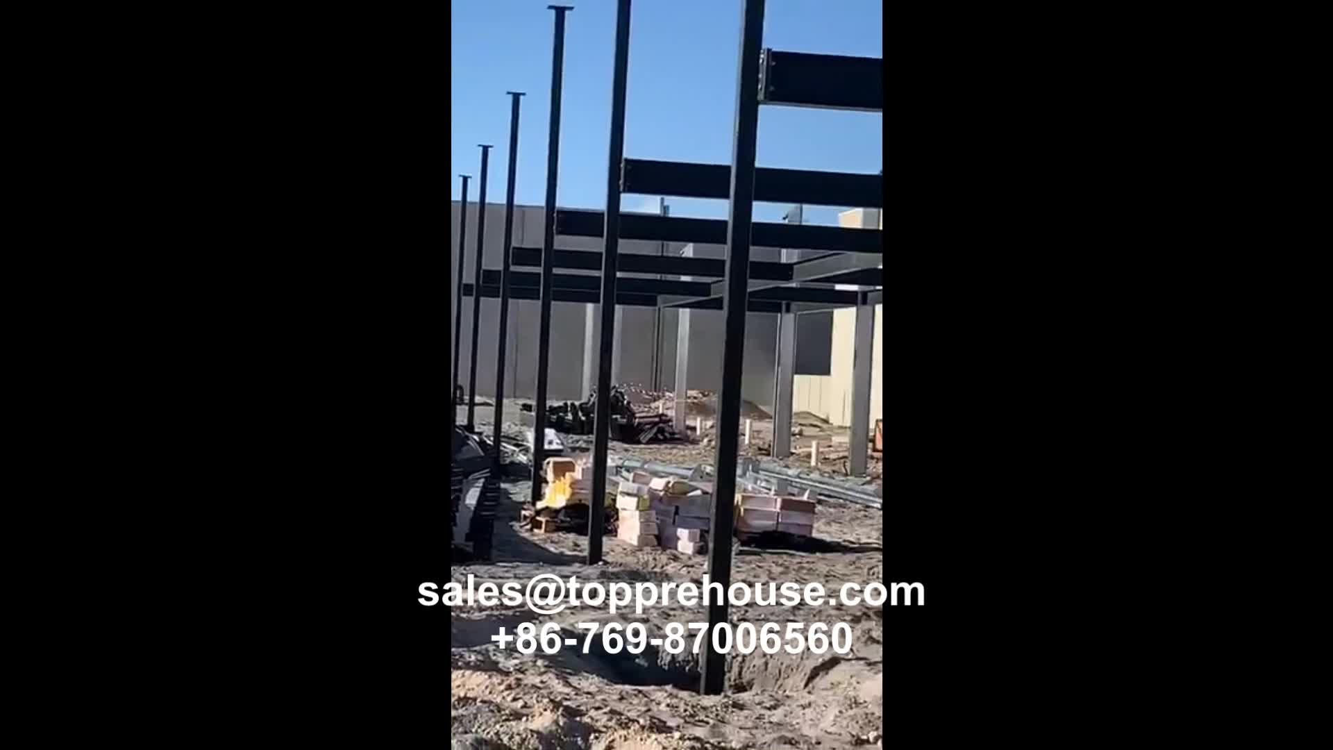 Costo di struttura in acciaio magazzino industriale sala magazzino costruzione in messico affitto