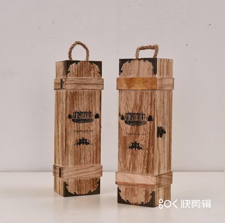Cheap factory price pine wood box