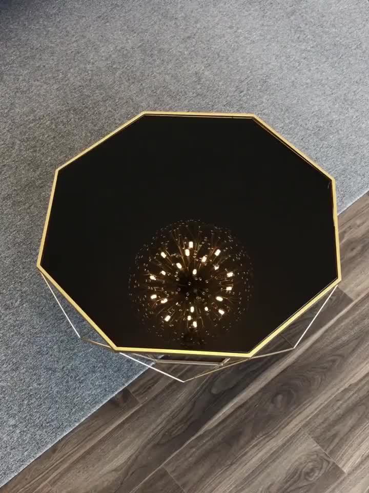 Крытый Одуванчик кристалл подвесные светильники отель Вилла применение Роскошные светодиодные золотые люстры подвесные лампы для свадьбы банкета