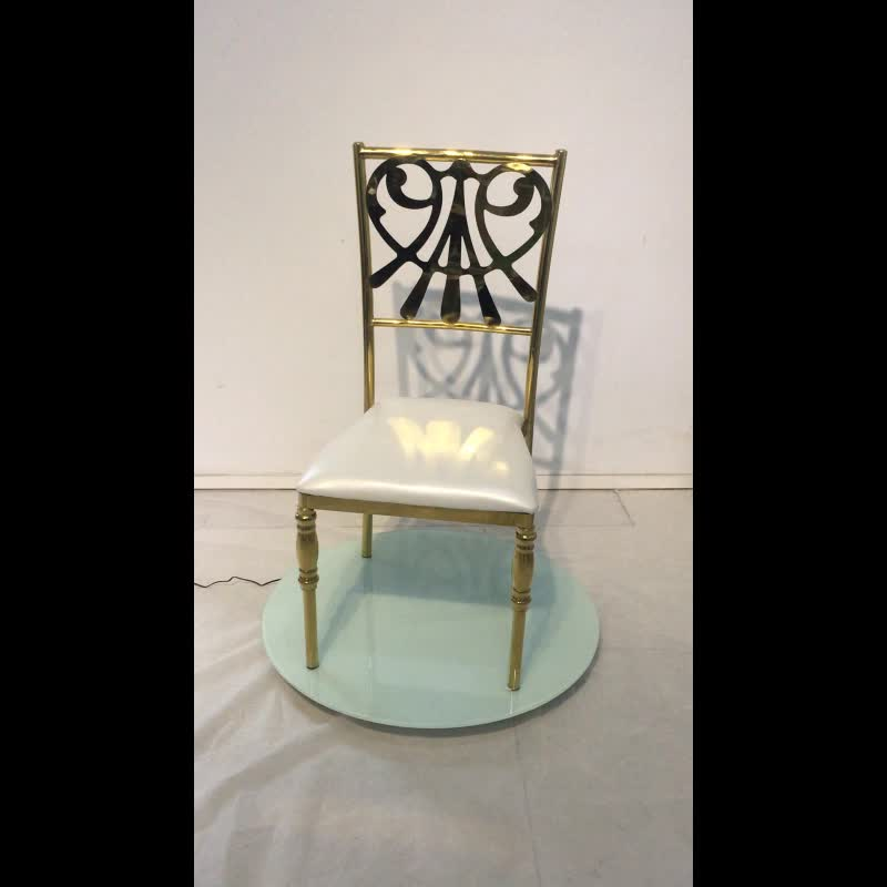 New Arrival Stainless Steel Low Price Dining Chair For