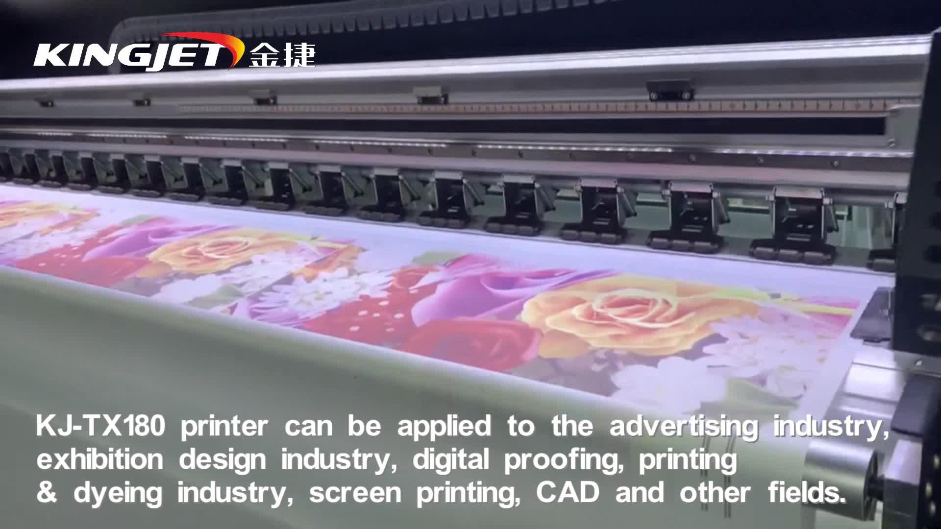 Digital-Flag-Baumwollgewebedrucker-T-Shirt-Farbstoffsublimations-Textildruckmaschine