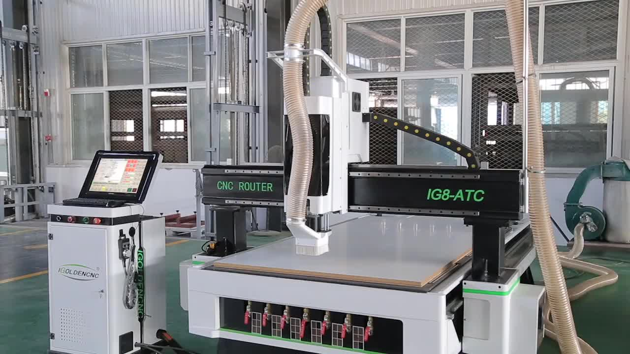 5 4 3 axis cnc machine / 3 axis ATC cnc router for large 3d wood mdf foam moulding
